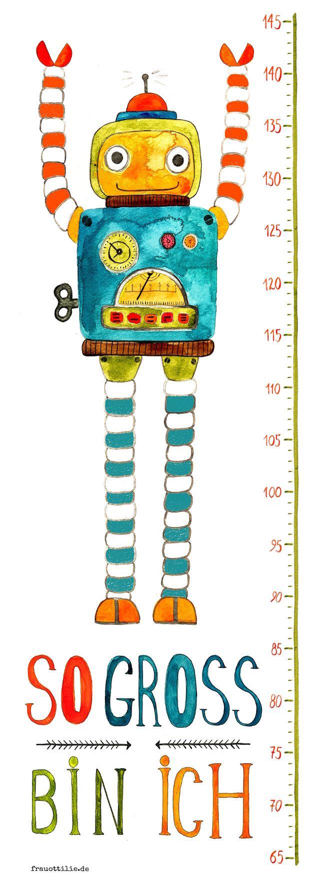 messlatte für kinderzimmer beste pic und adececffaeed robots for kids child room
