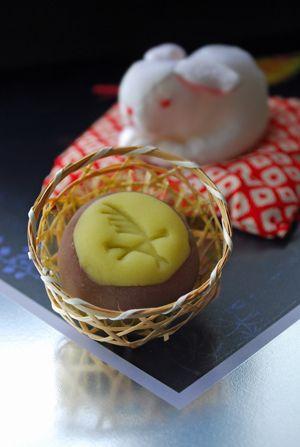 お月見 Japanese sweets