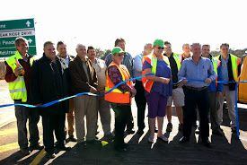 20 May '14 - The opening of the new access road linking Midstream to the Irene / Olifantsfontein Road