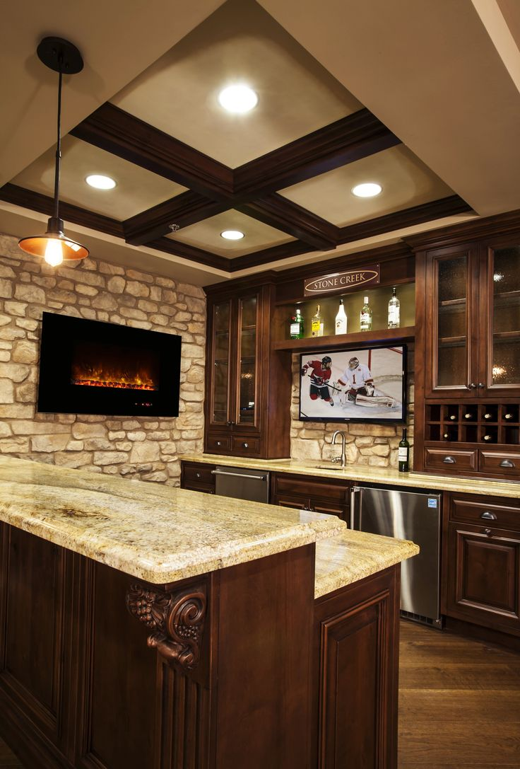 Basement Bar Designs, Home