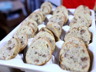 Biscottis de limón y nuez