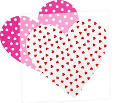 Resultado de imagen para molde de corazon pequeño para imprimir