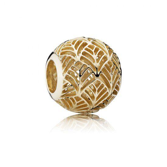 Tropicana liść palmy, 14K złota - Pandora PL  Promocja: 158.98zł  kup teraz: http://www.pandorabiżuteria.com/pandora-z%C5%82ota-cena.html