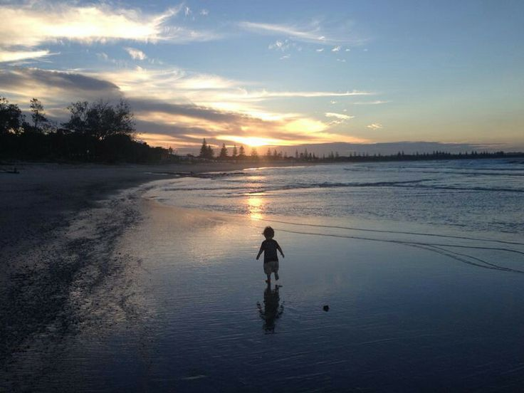Baby at Kingscliff.  NSW