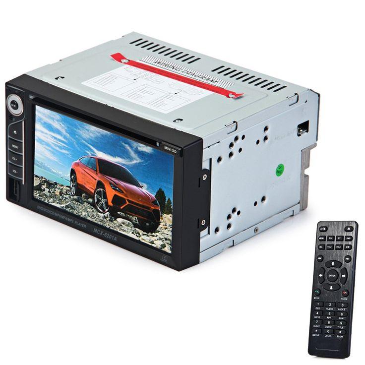 2 Din Mobil DVD Player Ganda Din Car Audio Video Player Layar sentuh MP5 MP4 DVD VCD MP3 Multimedia Player Dukungan Bluetooth FM
