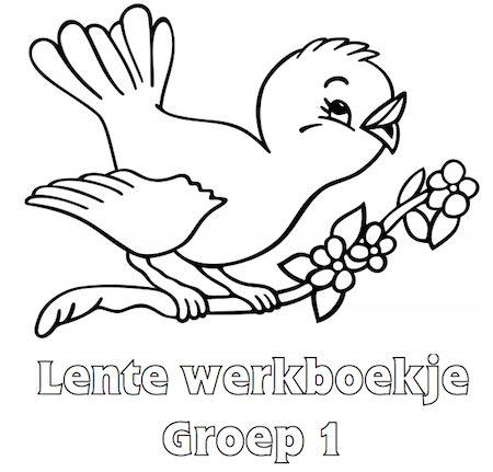 Lente Werkboekje Groep 1