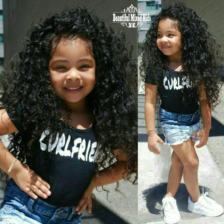 25 best Mixed Kids Hairstyles ideas on Pinterest  Mixed girl