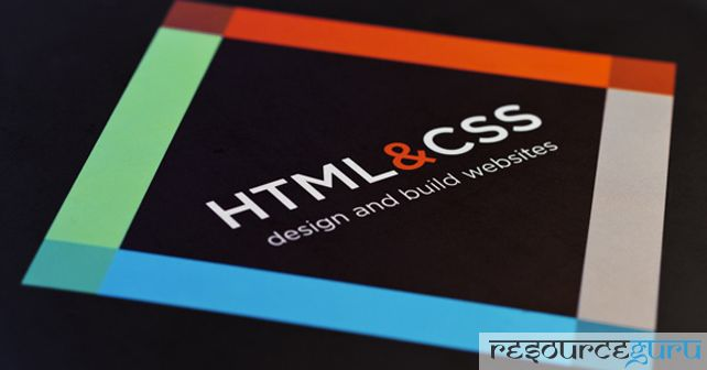 HTML and CSS Design and Build Websites by Jon Duckett  The whole book is attractively designed with lifestyle photography, colors and typography. First half of book examines HTML, clears every aspect on HTML in deep and second half covers CSS, HTML5 layout and practical help on how to organize and design the pages of your site.