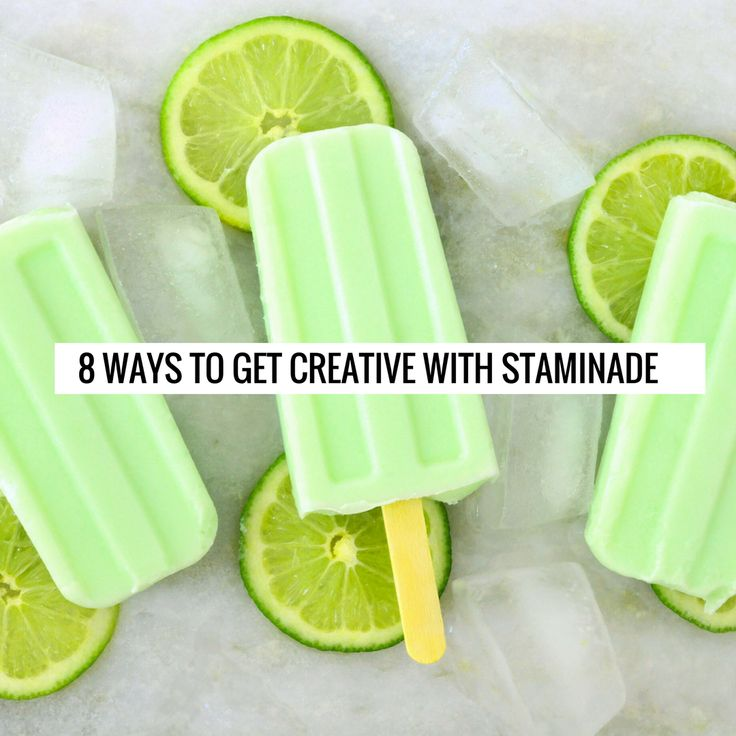 Looking for a way to beat that Australian heat? Try our fun and creative ways to get your Staminade fix, and stay refreshed, and hydrated with these delicious staminade recipes.