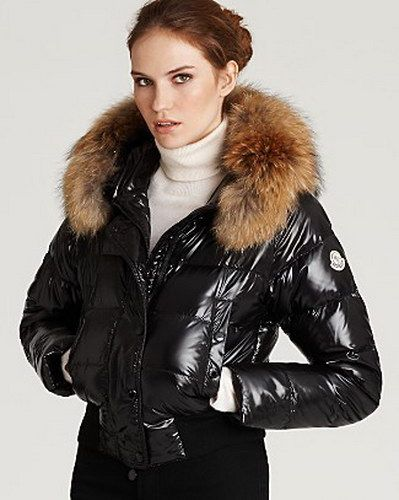 moncler black womens jacket