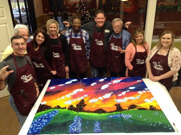 Painting with a twist texarkana tx texarkana chamber of for Painting with a twist greenville tx