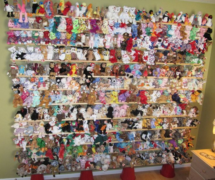 toy collection beanie boo display - Google Search