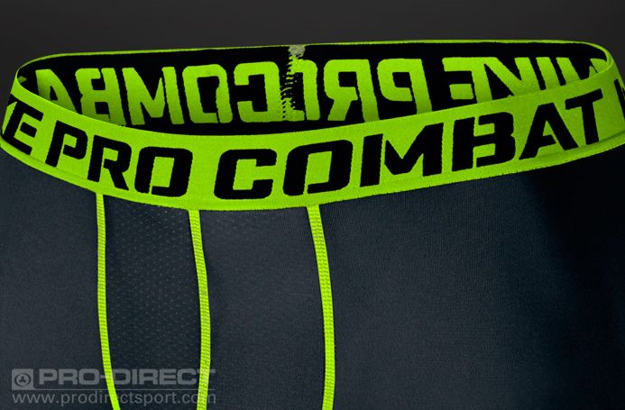 Nike Core Compression 6 Shorts 2.0 - Black/Volt #pdsmostwanted