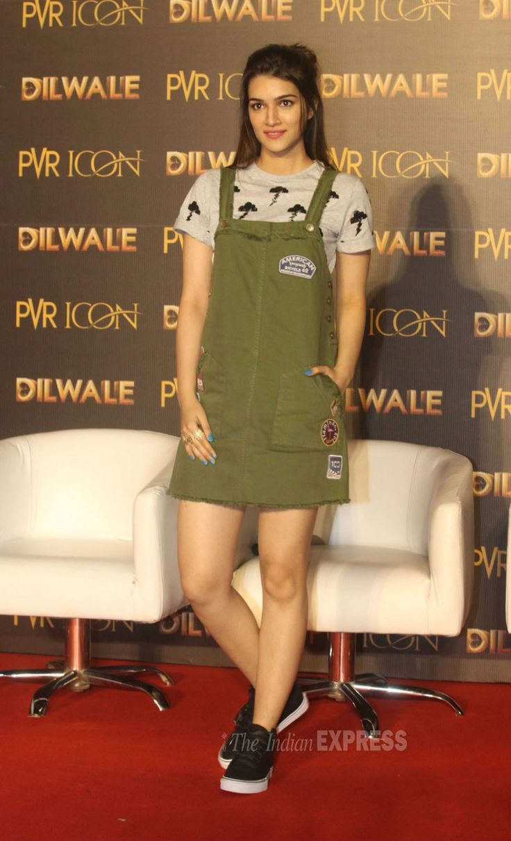 Kriti Sanon at the launch of #ManmaEmotionJaageRe song from #Dilwale. #Bollywood #Fashion #Style #Beauty #Hot
