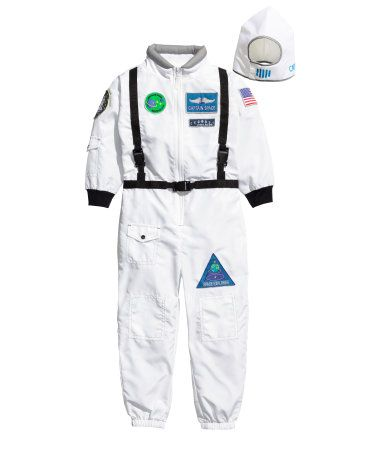 astronaut costume h m and velcro fasteners on pinterest. Black Bedroom Furniture Sets. Home Design Ideas