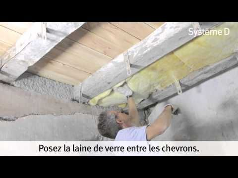 Isoler un plancher bois - YouTube