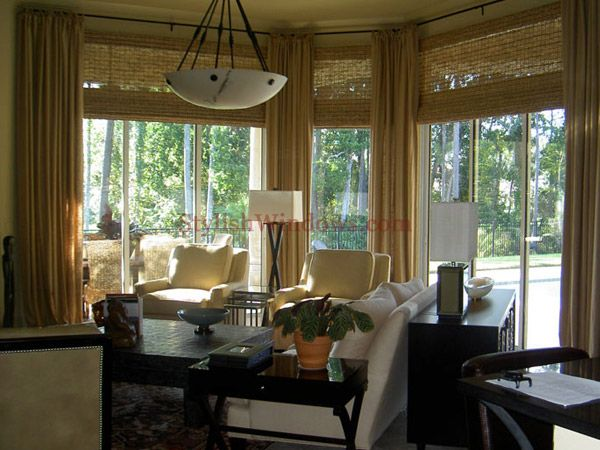 26 best images about window treatments on pinterest - Living room window treatments for large windows ...
