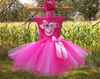 beautiful scarecrow tutu dress with matching by TaylarsTreasures2