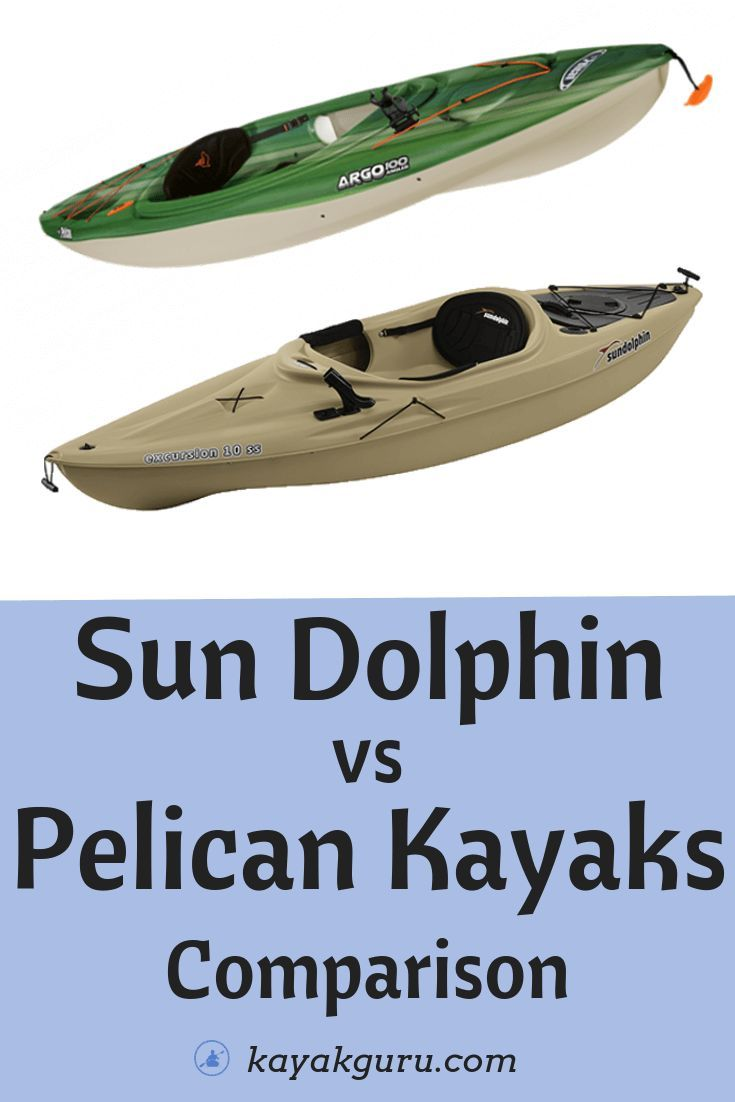 Sun Dolphin Vs Pelican Kayaks Comparison Which Kayaks Are Better We Look At Fishing Kayaks Recreational Touring And E Pelican Kayak Kayaking Best Fishing
