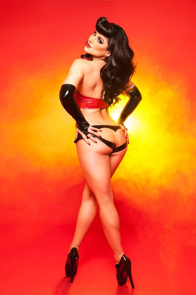 Latex and curves in all the right places 6
