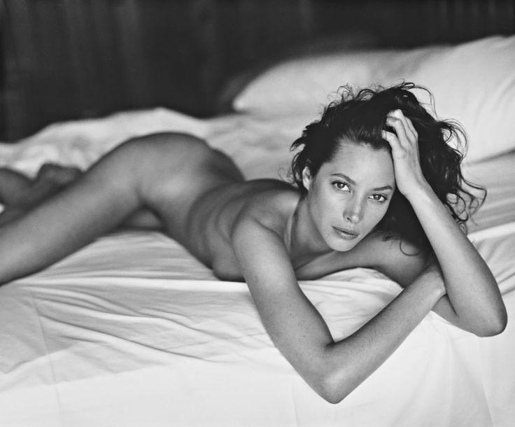 Christy Turlington by Sante D'Orazio, 1993.