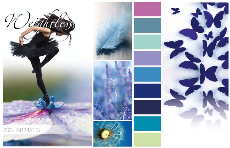 Spring Summer 2015 Color Trends, Intimates Color Trends