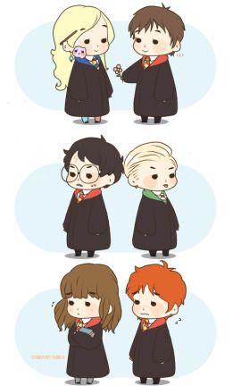 Harry Potter chibi :P