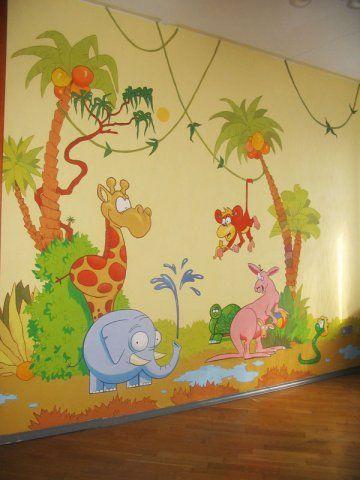 wandgestaltung in kinderzimmer haus pinterest. Black Bedroom Furniture Sets. Home Design Ideas