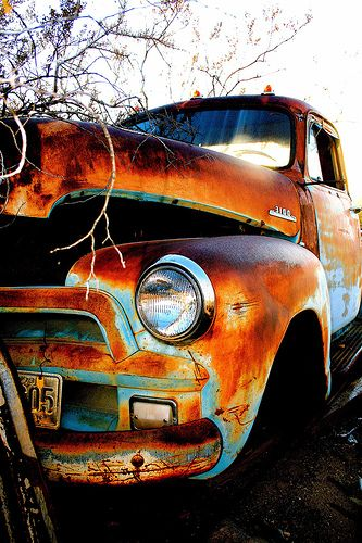 '54 Chevy waiting for restoration...
