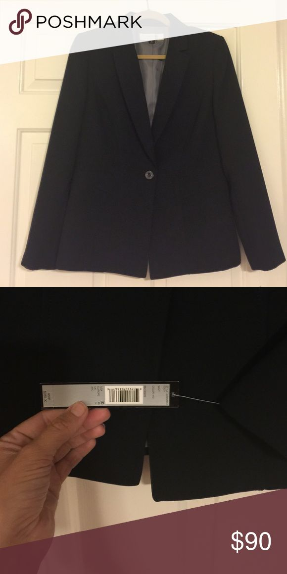 Navy Tahari Women's Formal jacket Great cut and brand. Loved nicely and not too heavy. Never been worn, tags are still attached. Jackets & Coats Blazers