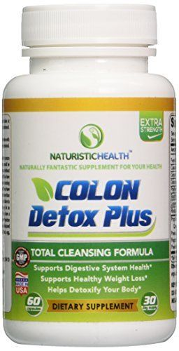 Colon Cleanse Detox Weight Loss Capsules  Best Colon Cleansing Pills  Natural