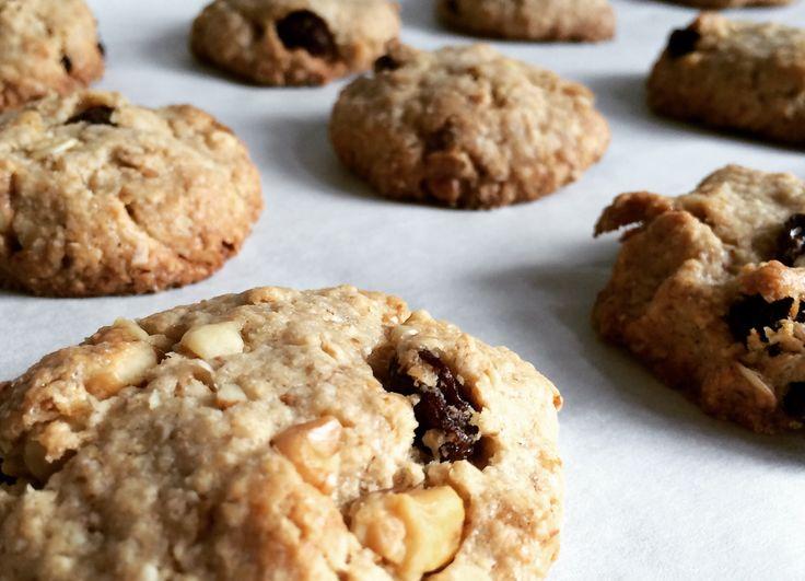 Koekjes zonder boter, dat is dus lekker én gezond! #bakken #koekjes #kids