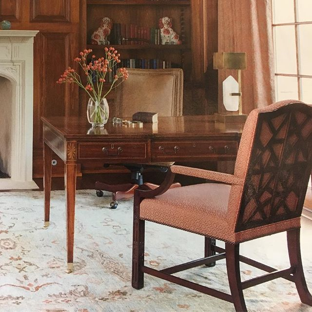 A Big Thank You To Huff Dewberry For Including Our Sheraton Writing Table  In This Beautiful