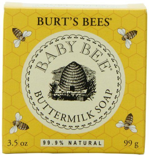 Not just for babies...love this stuff! Burt's Bees Baby Bee Buttermilk Soap, 3.5-Ounce Packages (Pack of 3) Burt's Bees http://www.amazon.com/dp/B002DPUY2E/ref=cm_sw_r_pi_dp_YnmQtb0Y2TZHVHBT