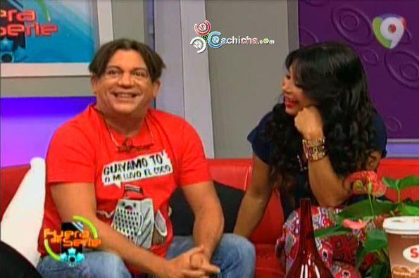 Entrevista A Kenny Grullón Con Melissa Guzmán En Fuera De Seria #Video