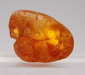 Baltic amber...grandma always wore a string of these crude stones around her neck