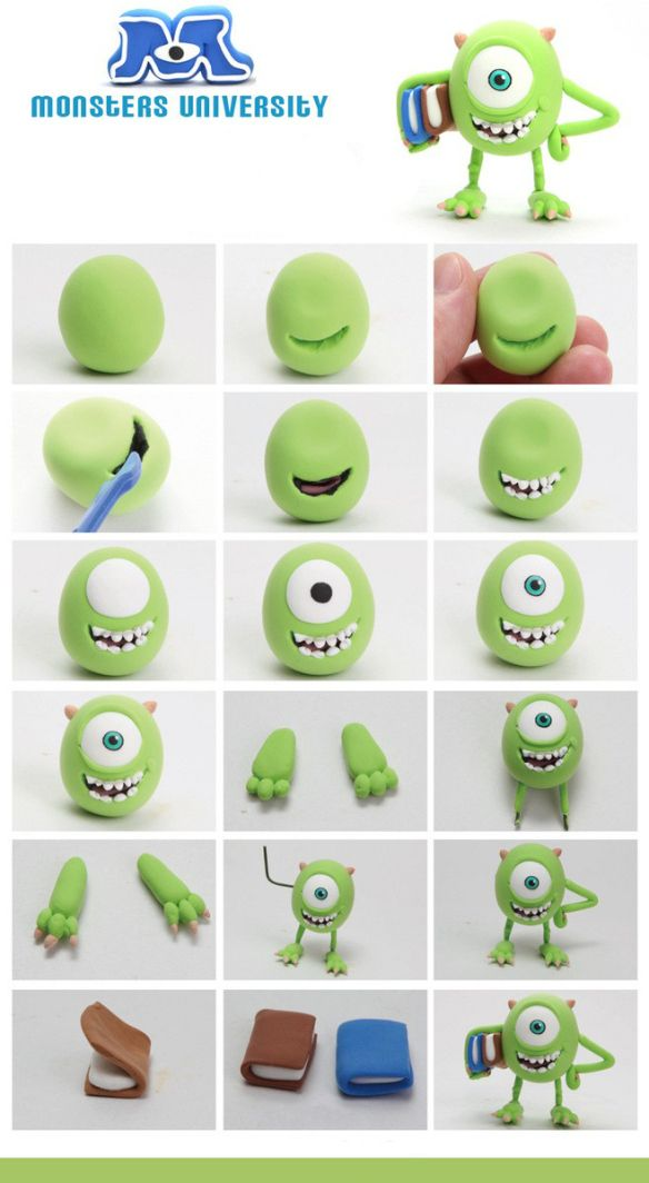 Personajes Monster University