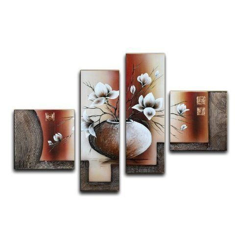 Home Decorations Canvas Painting Art Decor Flower Concept Office Living Room NEW #HomeDecor