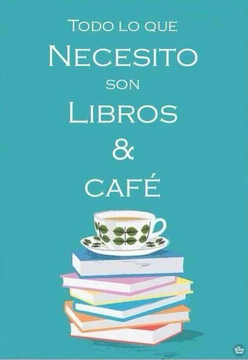 Libros y cafe si me entienden