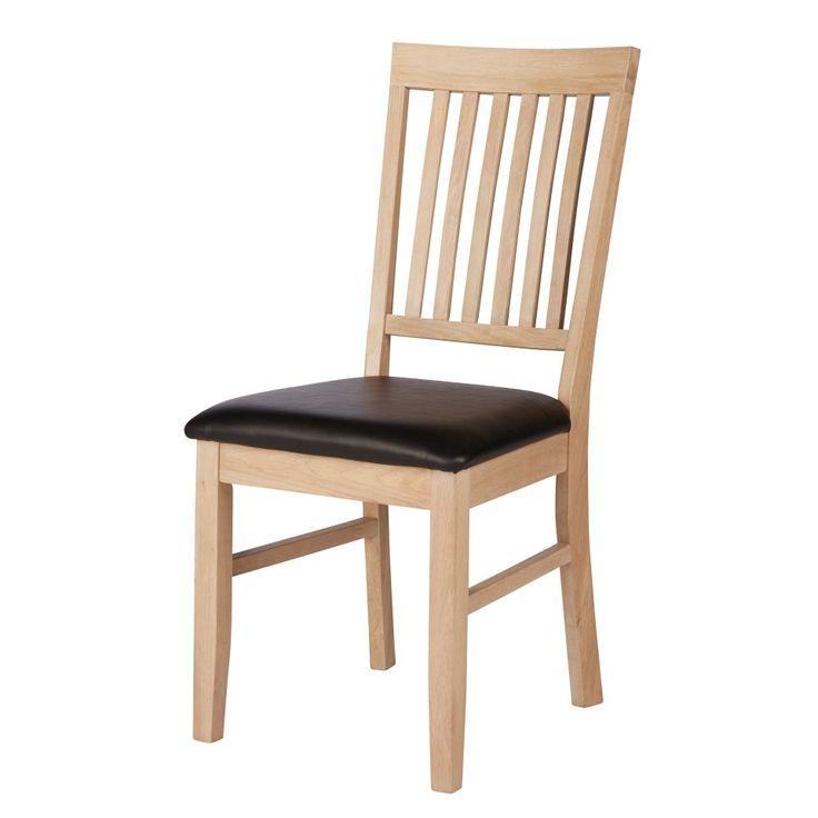 Esszimmerstuhl Nordic Oak (Eiche, weiß geölt) - Esszimmerstühle - Esszimmermöbel & Küchenmöbel - Möbel - Dänisches Bettenlager