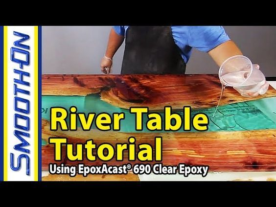 How To Make a River Table Using Clear Epoxy Casting Resin and Reclaimed Cedar Wood: Smooth-On How To Make a River… More at hauntersweb.com