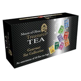 Mount of Olives Treasures Gift Box, 40-Count Tea Bags