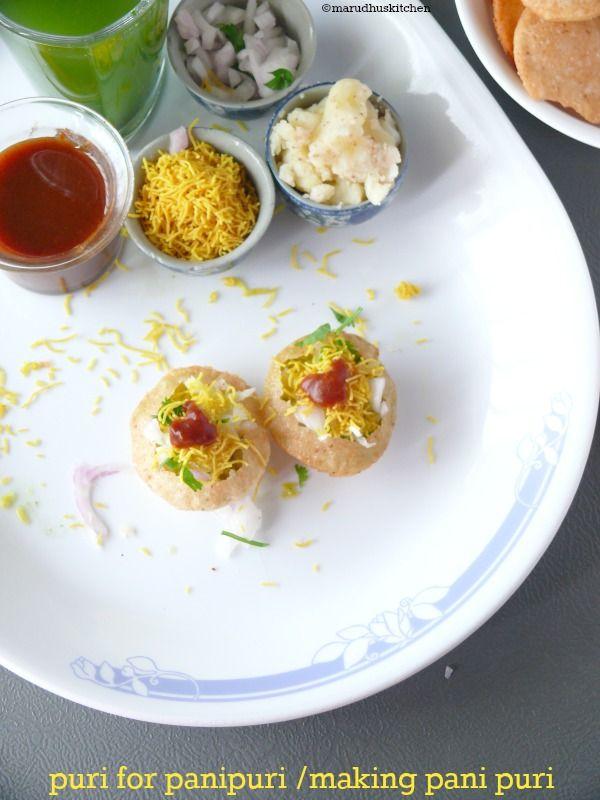 #puri for panipuri/pani puri making