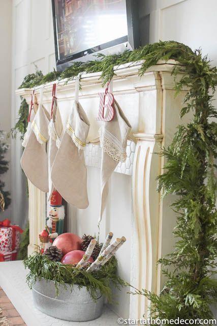 adorable farmhouse Christmas inspiration