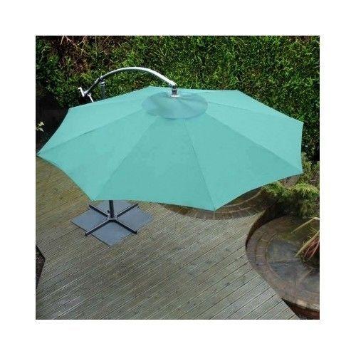 Overhanging Parasol Garden Outdoor Patio Furniture Cantilever Umbrella Sun Shade