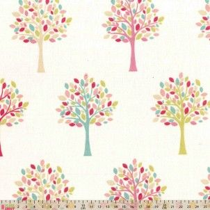 http://www.plushaddict.co.uk/fryett-s-fabrics-mulberry-trees-orchard-candy.html Fryett's Fabrics - Mulberry Trees Orchard Candy