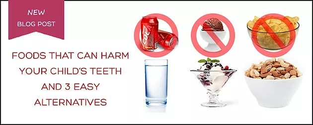 3 Foods That Harm Your Child's Teeth | Family Dentist | Northern Alberta | Slave Lake Dental - What your child eats affects their oral health.  The best thing you can do as a parent is to encourage your children to make healthier food choices.  Here are a few common snacks that can be detrimental to the health of your child's teeth and a smile-friendly alternative for each of them.