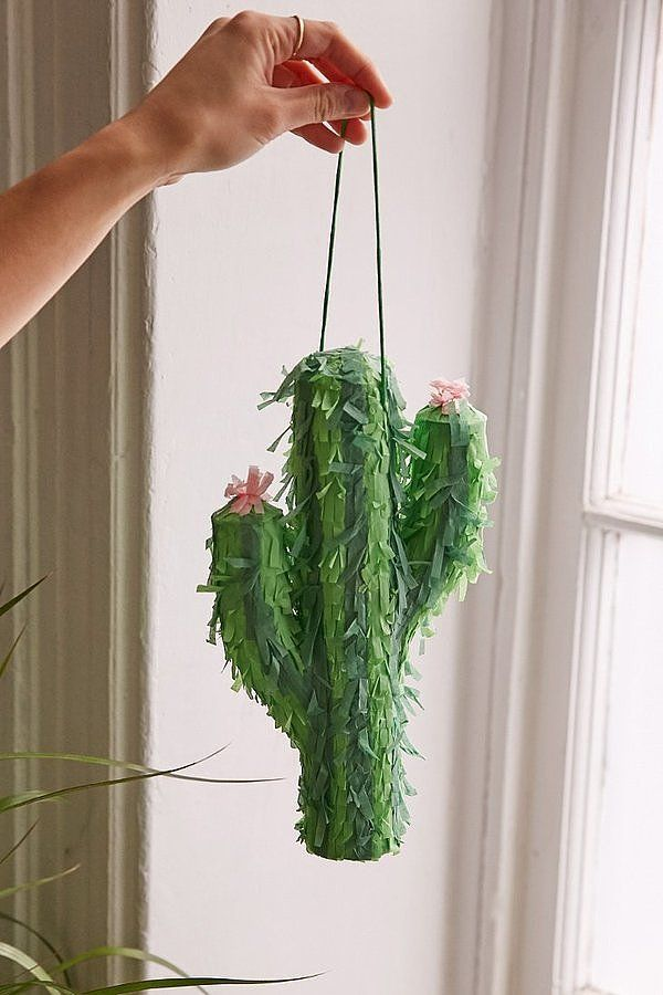Mini Cactus Piñata ($12)