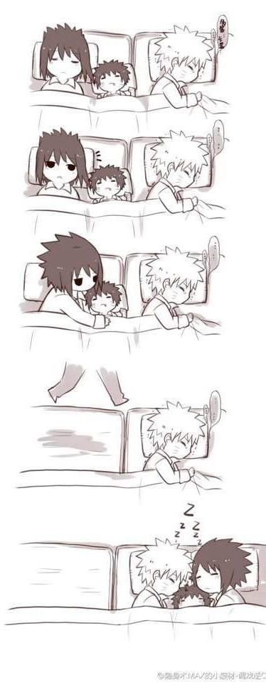 Isn't it sweet :) | We Heart It #narusasu #sasunaru
