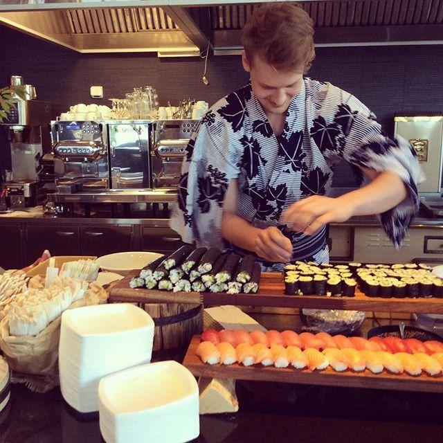 #pinghelsinki #foodporn #sushi #langvikhotel http://www.langvik.fi/